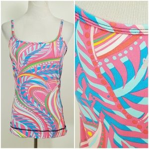 Lilly Pulitzer S Tank Bra Top Luxletic Athletic